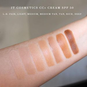 Lista de it cosmetics cc cream light medium para comprar