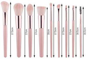 Catálogo para comprar por Internet Brochas maquillaje Pincel corazón conjunto – Los 20 preferidos