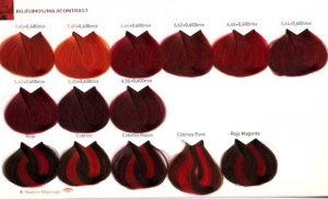 Catálogo de tinte de pelo rojo oscuro para comprar online – Los 20 mejores