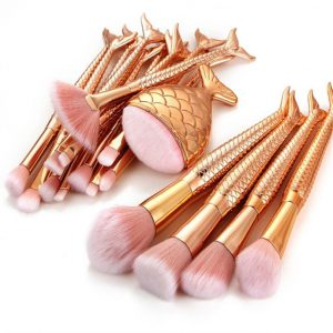 Reviews de brochas maquillaje diseño sirena nailon para comprar On-line – Los mejores