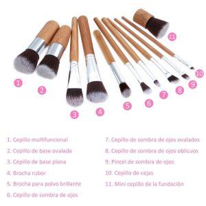 Reviews de brochas maquillaje pincel labios unidades para comprar – Los 30 favoritos