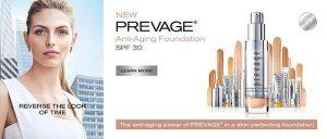 Ya puedes comprar en Internet los base de maquillaje prevage anti agin
