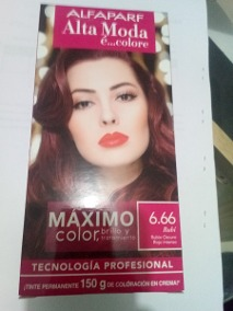 Opiniones y reviews de rojo intenso tinte para comprar On-line