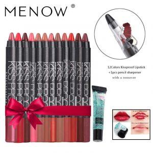 El mejor listado de Pintalabios 12 colores maquillaje Impermeable cosmeticos para comprar On-line – El Top Treinta