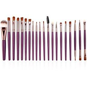 brochas maquillaje madera moradas degradado que puedes comprar On-line – Los preferidos por los clientes