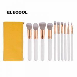 Catálogo de brochas maquillaje juegos cepillo amarillo para comprar online – Los preferidos