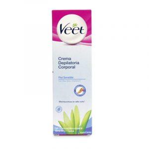 Opiniones de crema depilatoria corporal veet piel sensible para comprar On-line