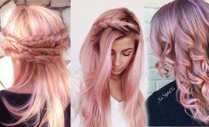 La mejor lista de pelo rosa dorado para comprar online