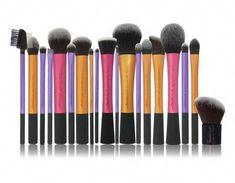 Catálogo de brochas maquillaje patrón galaxia mangos para comprar online