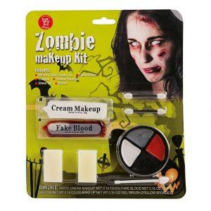Recopilación de kit maquillaje zombie para comprar en Internet