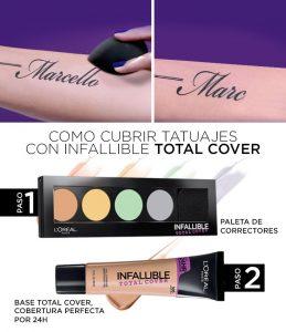 kit de maquillaje para cubrir tatuajes que puedes comprar online