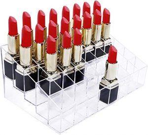 Pintalabios 40 espacios acrilico organizador maquillaje que puedes comprar on-line – Los preferidos