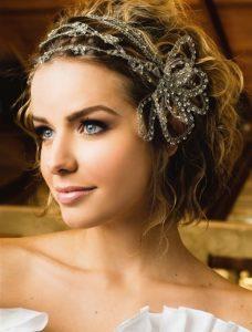 Lista de cintas para el pelo de novia para comprar por Internet