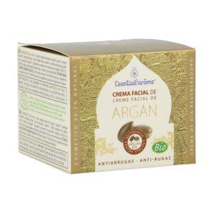 Listado de crema facial argán esential aroms para comprar on-line