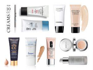 Catálogo para comprar por Internet cc cream best