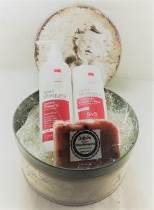 cesta regalo crema corporal que puedes comprar on-line