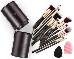 brochas maquillaje madera silicona difuminar que puedes comprar