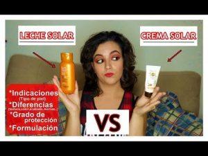 Opiniones y reviews de diferencia entre leche solar y crema solar para comprar