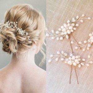 pasadores de pelo para novias que puedes comprar – Los 30 preferidos