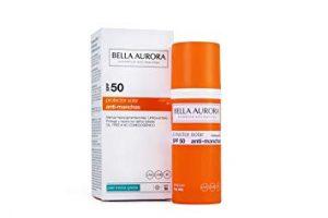 Lista de crema solar facial antimanchas para comprar en Internet