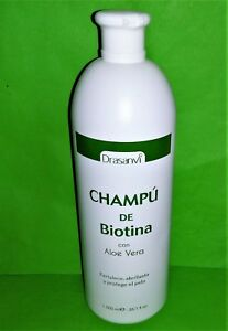 Lista de biotina champu para comprar online