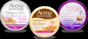 Catálogo para comprar por Internet crema hidratante avena