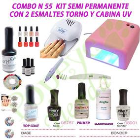 Lista de kit uñas semipermanentes para comprar