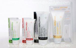 Listado de crema depilatoria bajo la ducha para comprar On-line