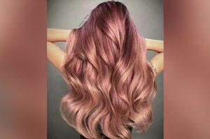 El mejor listado de rosa dorado pelo para comprar On-line