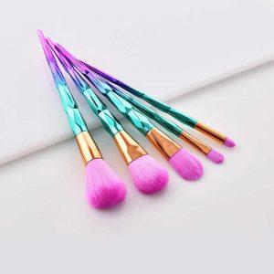 Lista de brochas maquillaje diamante cepillo sirena para comprar on-line