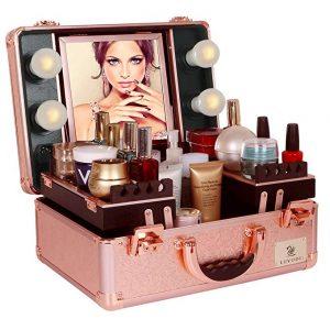 La mejor selección de maletin de maquillaje profesional completo para comprar Online
