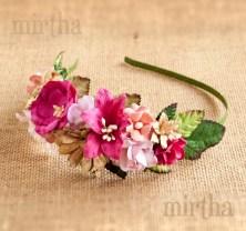 Selección de flores para diademas para comprar por Internet