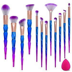 Selección de Brochas maquillaje profesional forma cola para comprar online