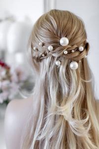 Opiniones de broches para el pelo novias para comprar On-line