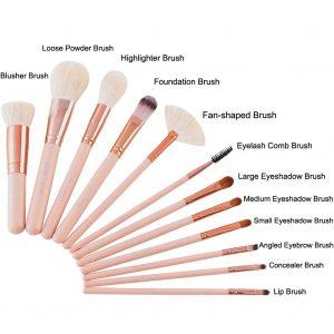 La mejor selección de kit de brochas de maquillaje profesional para comprar en Internet