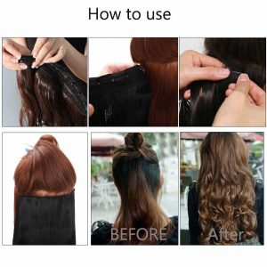 El mejor listado de extensiones de pelo clip para comprar en Internet – El Top Treinta