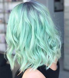 pelo verde agua que puedes comprar on-line