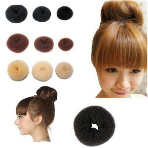 Selección de donut para el pelo para comprar On-line – Los 30 mejores