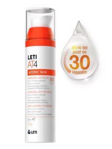 Ya puedes comprar online los crema solar leti at4