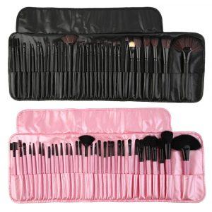 Recopilación de kit de 32 brochas para maquillaje para comprar Online – Los mejores