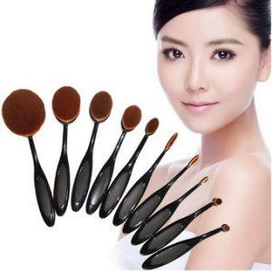 La mejor recopilación de brochas maquillaje ovaladas para comprar en Internet