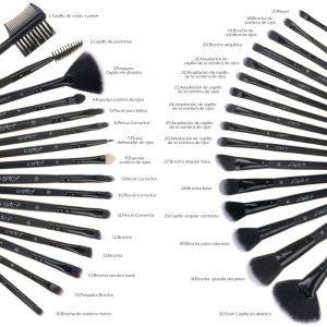 Selección de Brochas Maquillaje Pinceles Cepillo Belleza para comprar – Los mejores