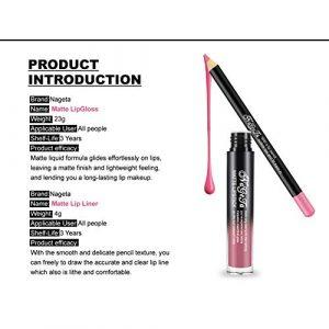Ya puedes comprar en Internet los Pintalabios impermeable duradero Liquido maquillaje