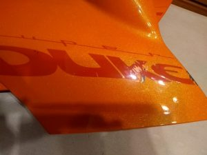 Reviews de Gloss Naranja Stripe Pegatinas Aprilia para comprar en Internet