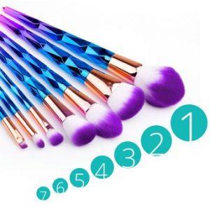 Selección de brochas maquillaje unicornio para comprar On-line