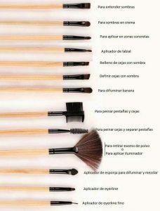 Catálogo de brochas maquillaje pincel brocha sombra para comprar online – El TOP 30