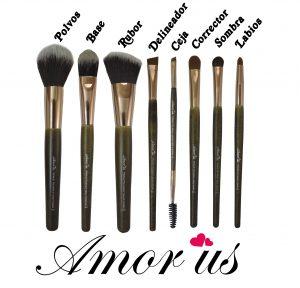 brochas maquillaje diseño mármol brocha disponibles para comprar online