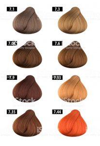 Lista de tinte de pelo colores para comprar en Internet