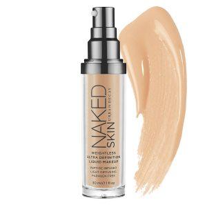 Catálogo para comprar on-line base de maquillaje naked skin ultra