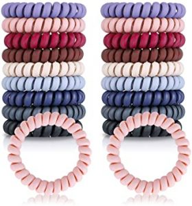 Ya puedes comprar online los gomas de pelo espiral